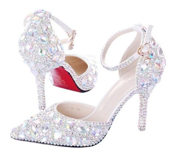 Sapato De Luxo Festa Cinderela Noivas E
