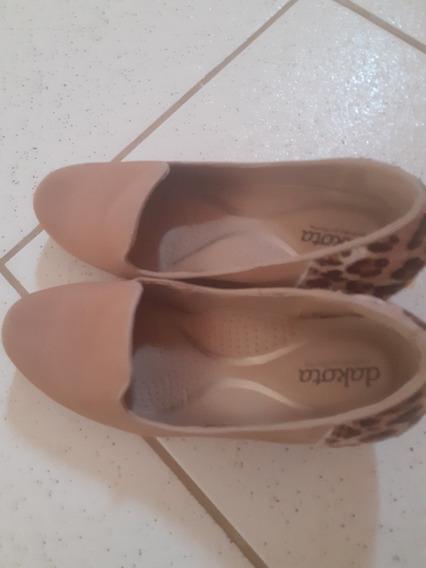 Sapato Dakota Semi Novo Confort N 36 Usado Duas Vezes