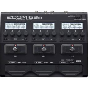 Pedaleira Zoom G3n Guitarra Original Com Nf