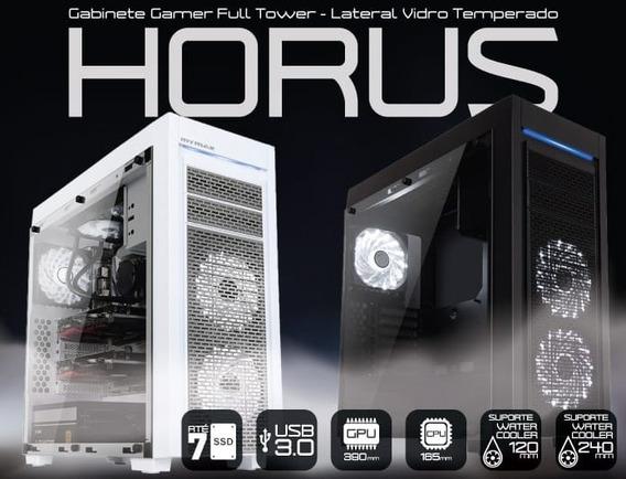 Gabinete Gamer Full Tower Horus