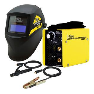 Soldadora Inverter Bta Mma120-micro 120amp + Mascara Mf121