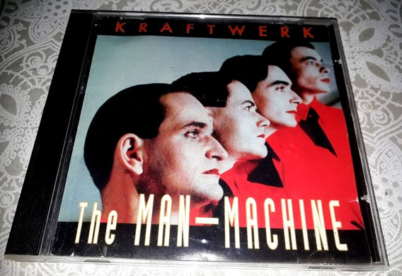 Krafwerk - The Man-machine - Cd Importado