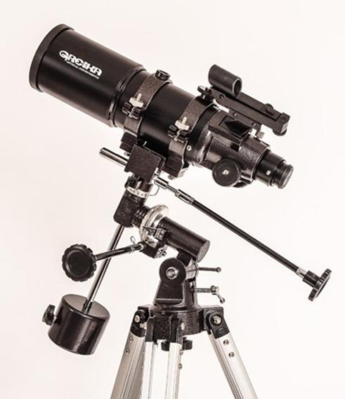 Telescopio Equatorial Refrator Com Tripé 400x80mm Bt400-80eq