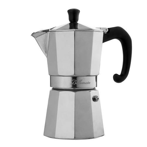 Cafetera De Espresso Bellemain, 6 Tazas, De Aluminio