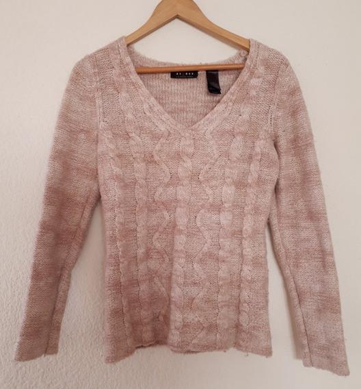 Suéter Tejido Color Rosa