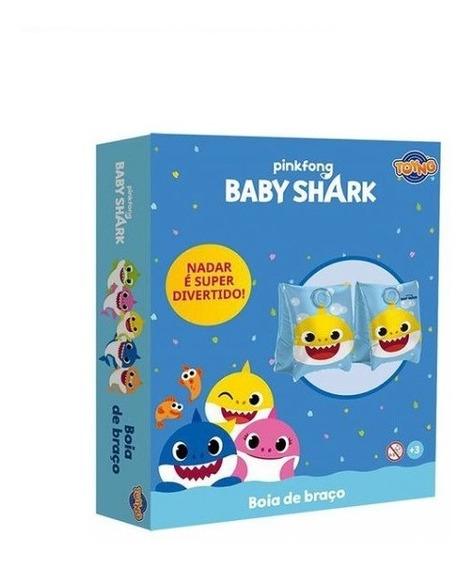 Boia De Braço Infantil Baby Shark Toyng