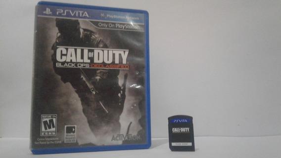 Jogo Mídia Física Ps Vita Call Of Duty ( Frete Facilitado)