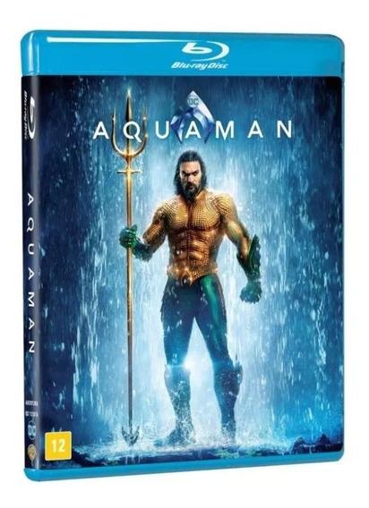 Blu-ray Aquaman - Original & Lacrado