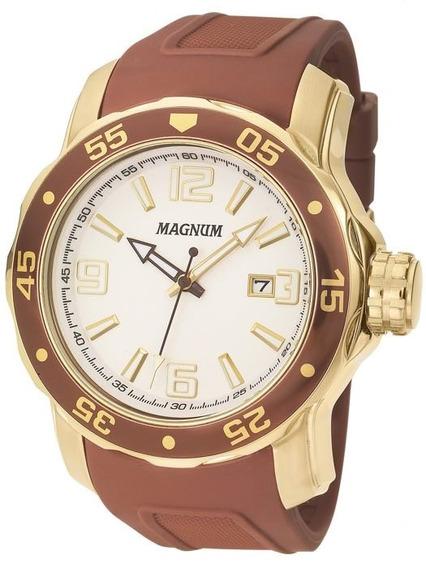 Relógio Magnum Masculino Original Linha Luxo Ma31908s