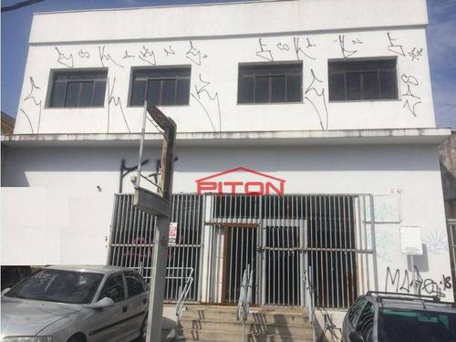 Salão Para Alugar, 625 M² Por R$ 18.000,00/mês - Cangaíba - São Paulo/sp - Sl0027