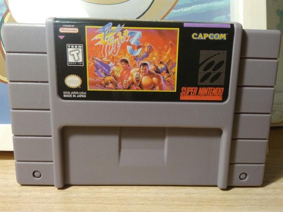 Final Fight 3 Cartucho Snes Super Nintendo