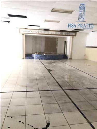 Imagem 1 de 22 de Salão Para Alugar, 270 M² Por R$ 10.000,00/mês - Centro - Paulínia/sp - Sl0010