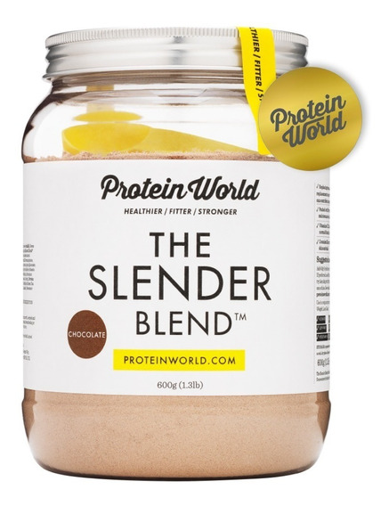 Proteína The Slender Blend 600gr Chocolate Protein World
