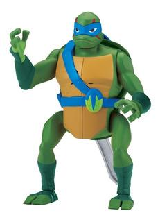 Figura Lujo Leonardo Giro Atrás Rise Of The Ninja Turtles