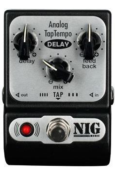 Pedal Nig Analog Tap Tempo Delay Padt