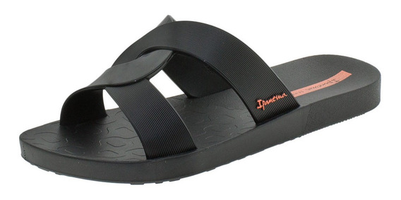 Chinelo Feminino Feel Ipanema - 26370 Preto