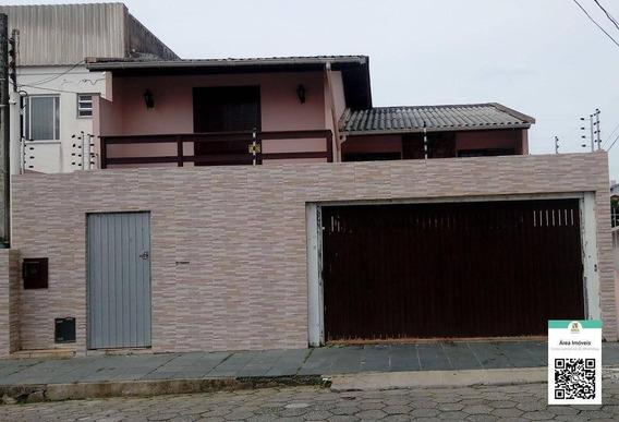 Casa Com 2 Dormitórios À Venda, 270 M² Por R$ 490.000,00 - Barreiros - São José/sc - Ca0564