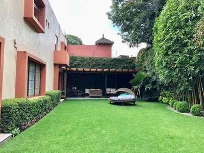 Impecable Y Lujosa Casa Amueblada En Tlacopac San Angel