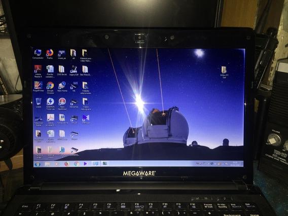 Notebook Megawere Meganote H54y W Séries Muito Novo!
