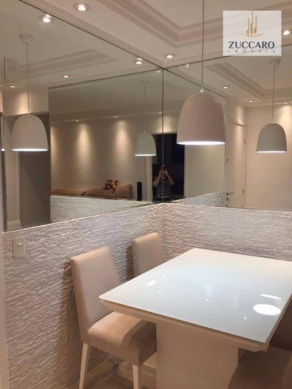 Lindo Apartamento No Condomínio Suprema Vila Augusta, 64m², 2 Vagas, Aceita Troca. - Ap7135