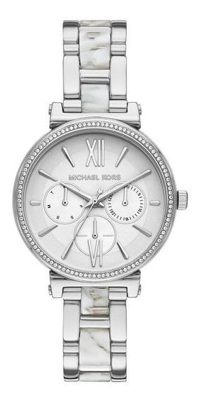 Relógio Michael Kors Sofie Feminino Prata Mk4345/1kn