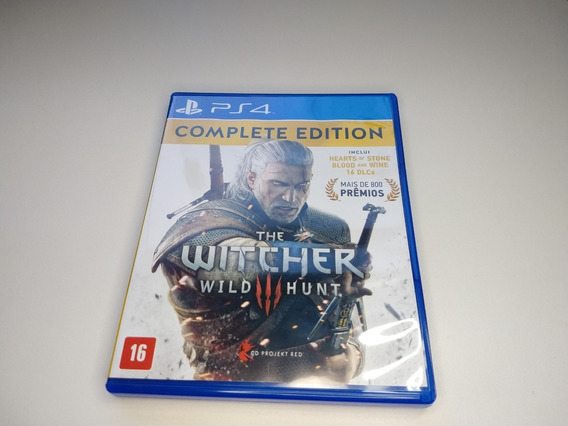 The Witcher 3 Wild Hunt Ps4 - Complete Edition