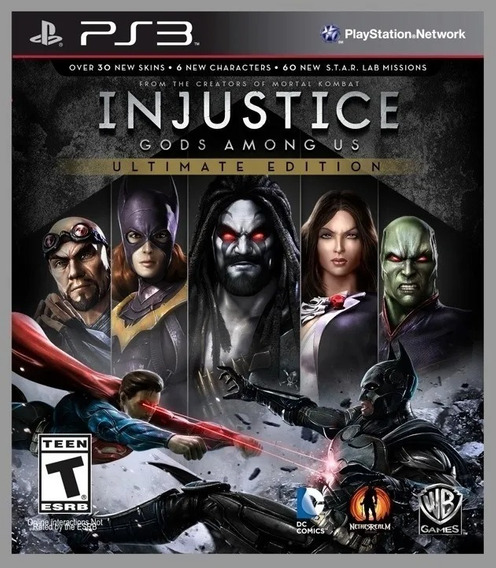 Injustice Gods Among Us Ultimate Edition Ps3 Dublado
