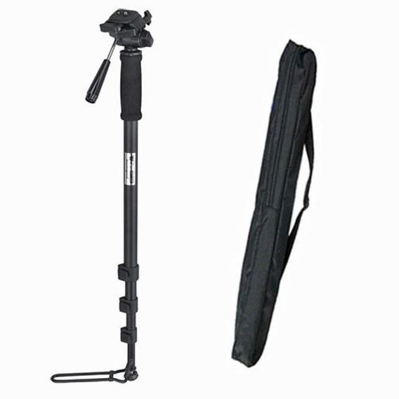 Monope Camera Dslr E Vídeo Weifeng Wt 1005 1,80m Suporta 3kg