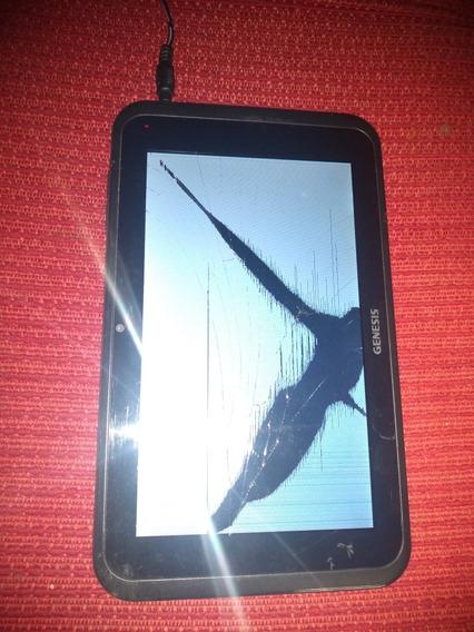 Tablet Genesis Gt-7301- (7 )-funcionando Quebrou A Tela