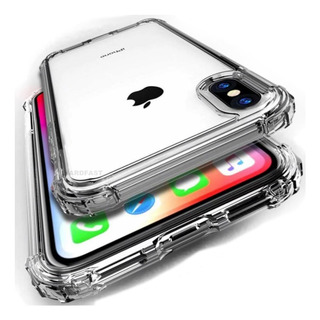 Capa Anti Shock iPhone 11, Pro, Max, 8 X + Pelicula Gel Wlxy