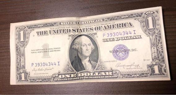 Billete 1 Dolar Sello Azul 1935 Billetes En Mercado Libre Argentina