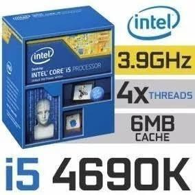 Processador I5 4690k 3.5ghz C/ Delid Líquid Pro