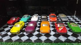 Lote De Miniaturas De Porsche 1/38 - 1/36 - 1/43