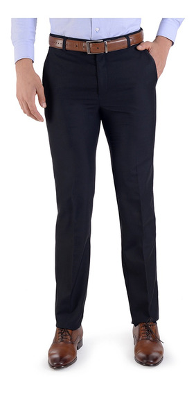 Pantalon De Vestir Hombre Slim Fit Mercadolibre Com Mx