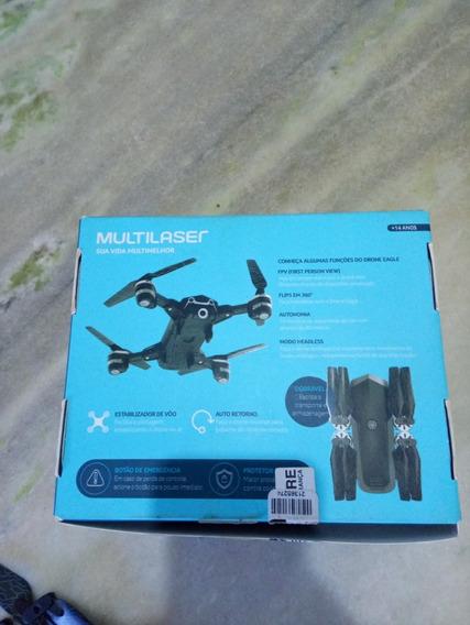 Drone Multilaser Eagle E256 Com Camera 5mega Pixel Usado