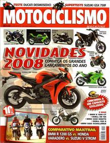Motociclismo 118 * Cbr 1000rr * Gsx-r 600 * Gsx 750f * Wr 25