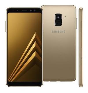 Samsung Galaxy A8+ 2018 A730f/ds 64gb Dual Dourado Lacrado