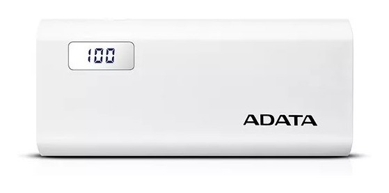 Power Bank Adata Ap12500d Capacidad 12500mah Blanca