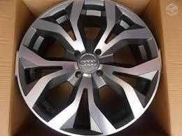 Jogo Roda Audi A6 Rs6 Aro 15 4/ 5 Furo Gol+parafuso+bico+emb
