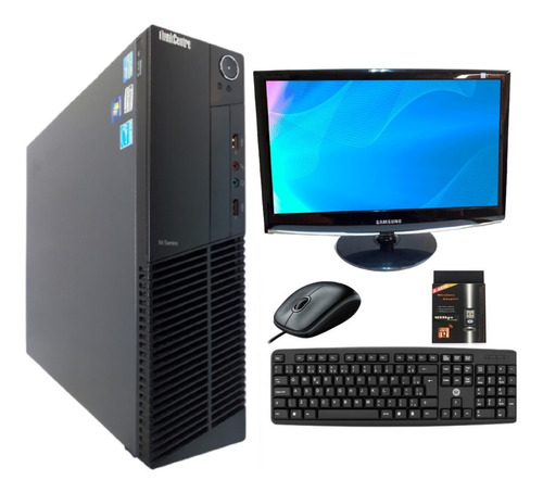 Pc Computador + Monitor Intel I5 8gb Hd500 + Wi-fi + Windows