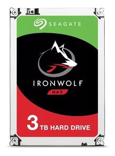 Disco Duro Interno 3tb Seagate Ironwolf Sata 3 St3000vn007