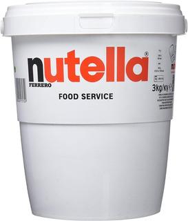 Nutella Ferrero Dulce Chocolate 3 Kg Original
