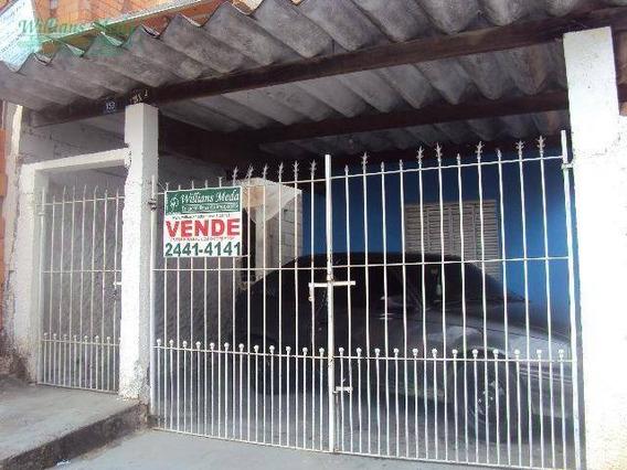 Casa Residencial À Venda, Parque Renato Maia, Guarulhos. - Ca0033