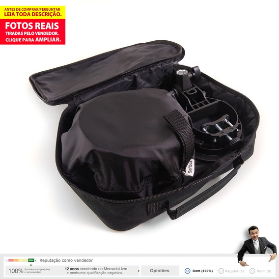 Kit Suporte Godox S-type P/ Flash + Softbox 60x60 Bowen 2b