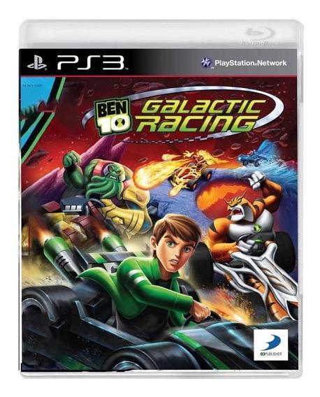 Ben 10 Galactic Racing - Original - Ps3 - Mídia Física