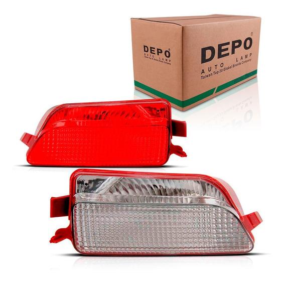 Refletor Parachoque Traseiro C4 08 09 10 11 12 13 14 Hatch
