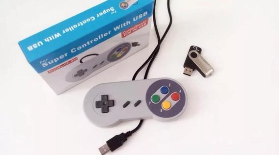 Super Nintendo Portátil 2 Controles Mil Jogos Conectou,jogou