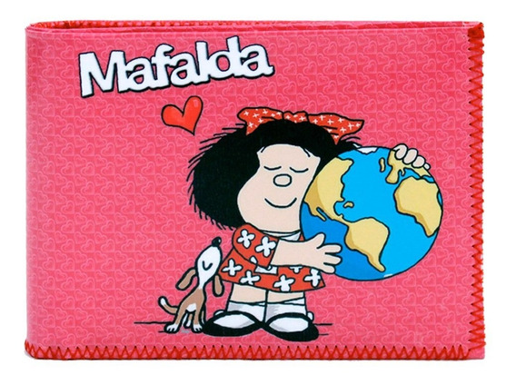 Billetera Mafalda Con Tarjetero