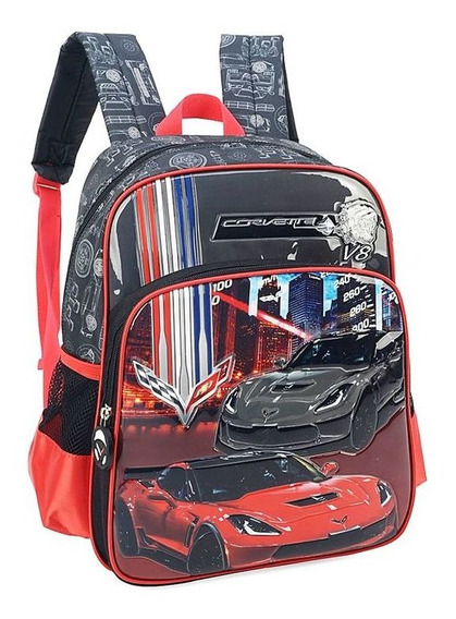 Mochila Escolar Infantil Up4you Corvette 009380