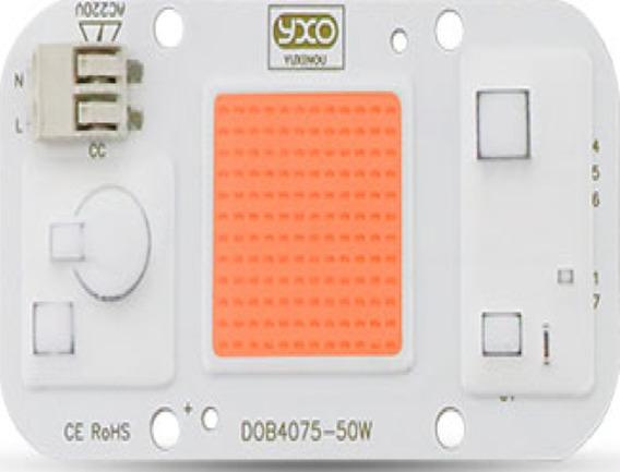 Chip Led 50w Full Spectrum Cultivo Indoor Grow Aquário Smart